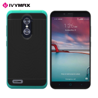 alibaba express high quality hybrid double lawyer mobile phone case for ZTE Z963U Z988