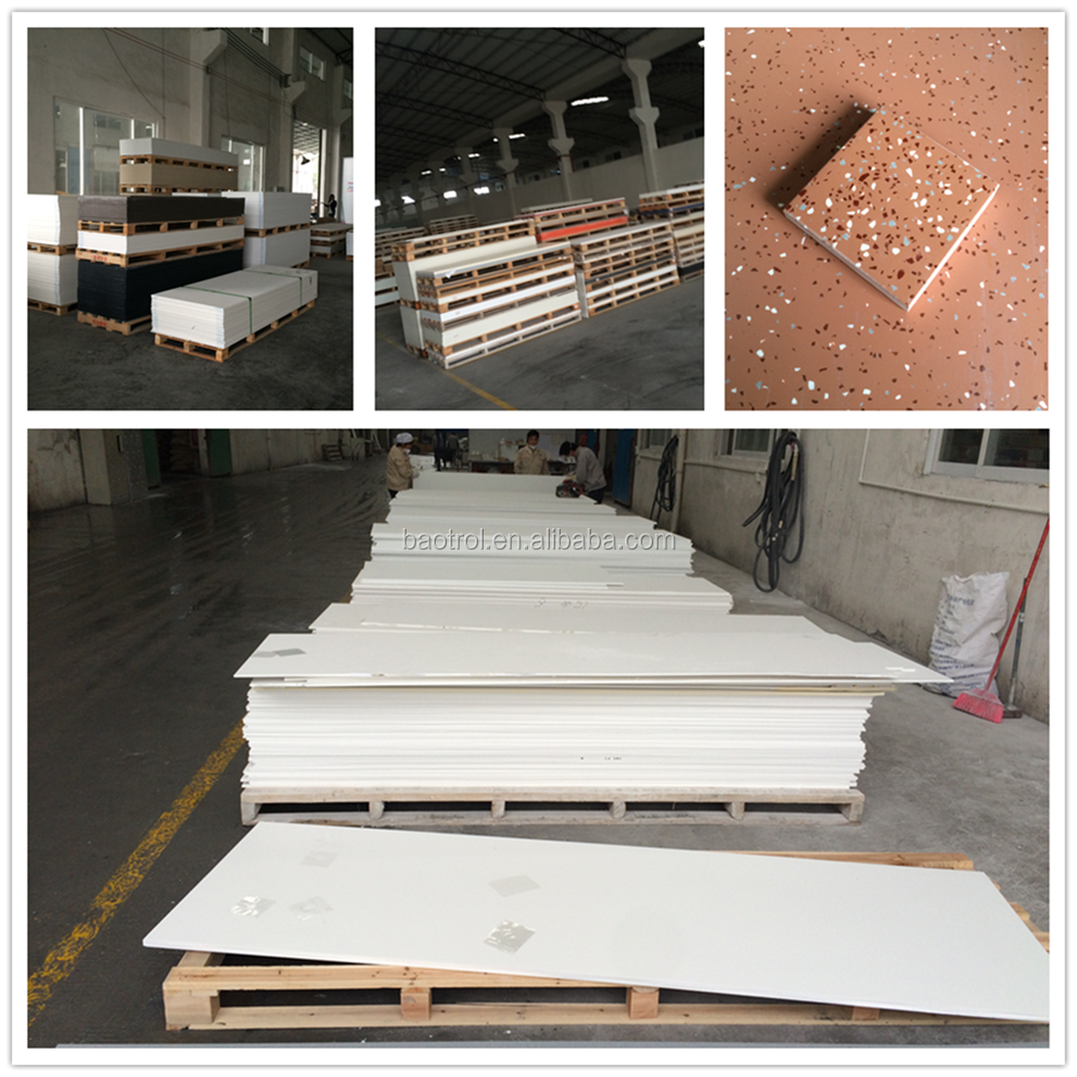 modified acrylic stone/factory made solid surface/artificial stone price