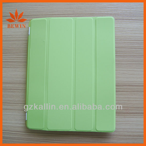 Smart cover for ipad mini Pu leather with retail package