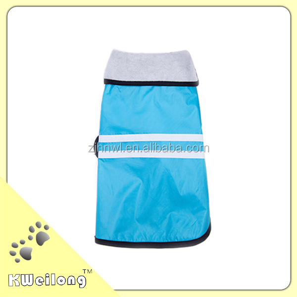 beautiful blue waterproof pet clothes /dog polo