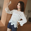 Stock Fashion Lady Casual Long Sleeve