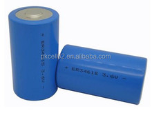 Li-SOCl2 D Size 3.6V ER34615 lithium big battery pack