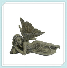 resin tombstone decorative angel fairy figurine statue gift craft