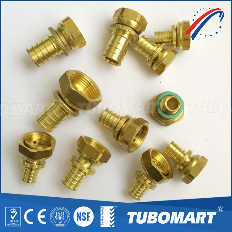 CW617n water supply plumbing brass fitting elbow pipe pex fitting for Rehau pex pipe