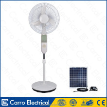 High efficiciency solar portable outdoor fan