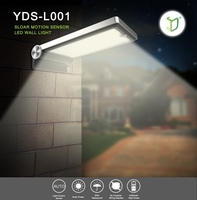 Yardshow Solar Motion Sensor CE Certification Led Garden Light