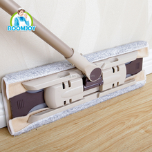 Boomjoy FC-17 best mop! Microfiber Highly Absorbent Euro style floor cleaning industrial flat mop with high quality