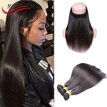 Alibaba china market factory New premium 100% brazilian human hair lace frontal piece 360 lace frontal closure