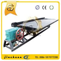 high efficiency gold shaking table with iso certificate