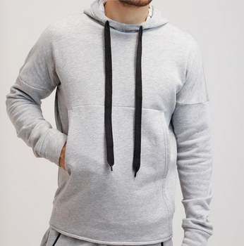 Mens sports training kangaroo pocket wholesale hoodie sweatshirts