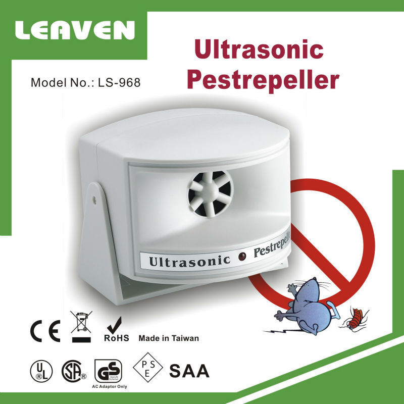 Ultrasonic Mouse Repeller LS-968 Repel Mice Rat Cockroach