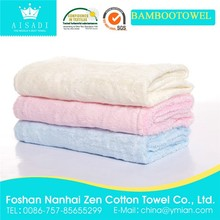 Low Price Low MOQ Organic Bamboo Bath Towel Sets Bamboo Towels in Stock