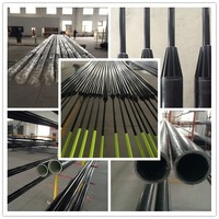 Hot Sale light weight high strength Fiberglass farming pole