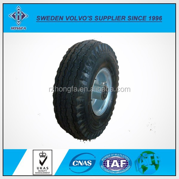 Manufacturer Pneumatic 11x3.50-4 Air Rubber Wheel