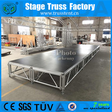 Adjustable Compact Portable Aluminum Circle Round Wedding Stage