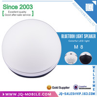Consumer Electronics fashionable colorful portable wireless led light bluetooth speaker