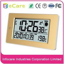 Desktop lcd screen electronic weather station digital wave clock in selling