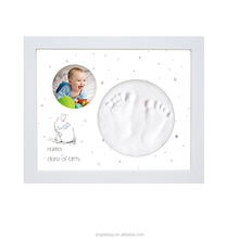 First Impressions Photo Frame Casting Kit Baby Gift Create Hand Or Foot Imprints Keepsake