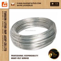 Electro/Hot dipped Galvanized thin iron wire, eg binding wire factory