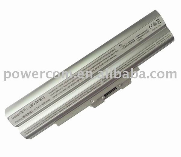 Replacement 11.1V 4400mah laptop battery for Sony Vaio series