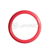 The red plastic silicone o ring/o ring