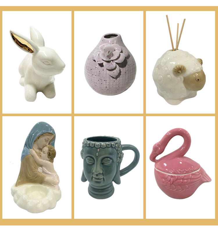 Wholesale Household Ceramic Decoration Rabbit