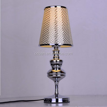 African Style Wood Base Table Lamp Indoor Lighting