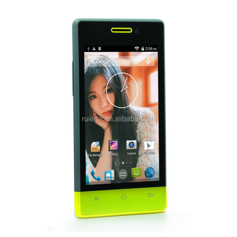VKworld VK410 4 inch android 4.4.2 3g wcdma gsm dual sim Smart Phone with RAM 512MB+ ROM 3G/dual core phone