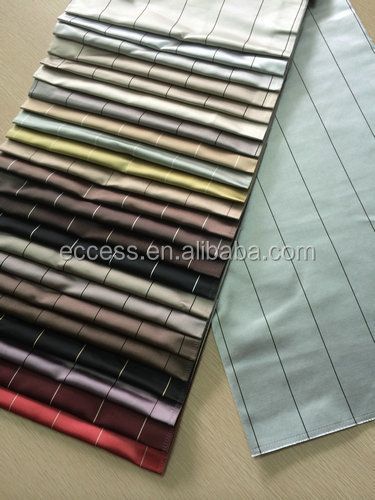 polyester stripe fabric for window curtains