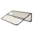 smart base mattress foundation platform folding metal slatted bed frame DJ-PP05