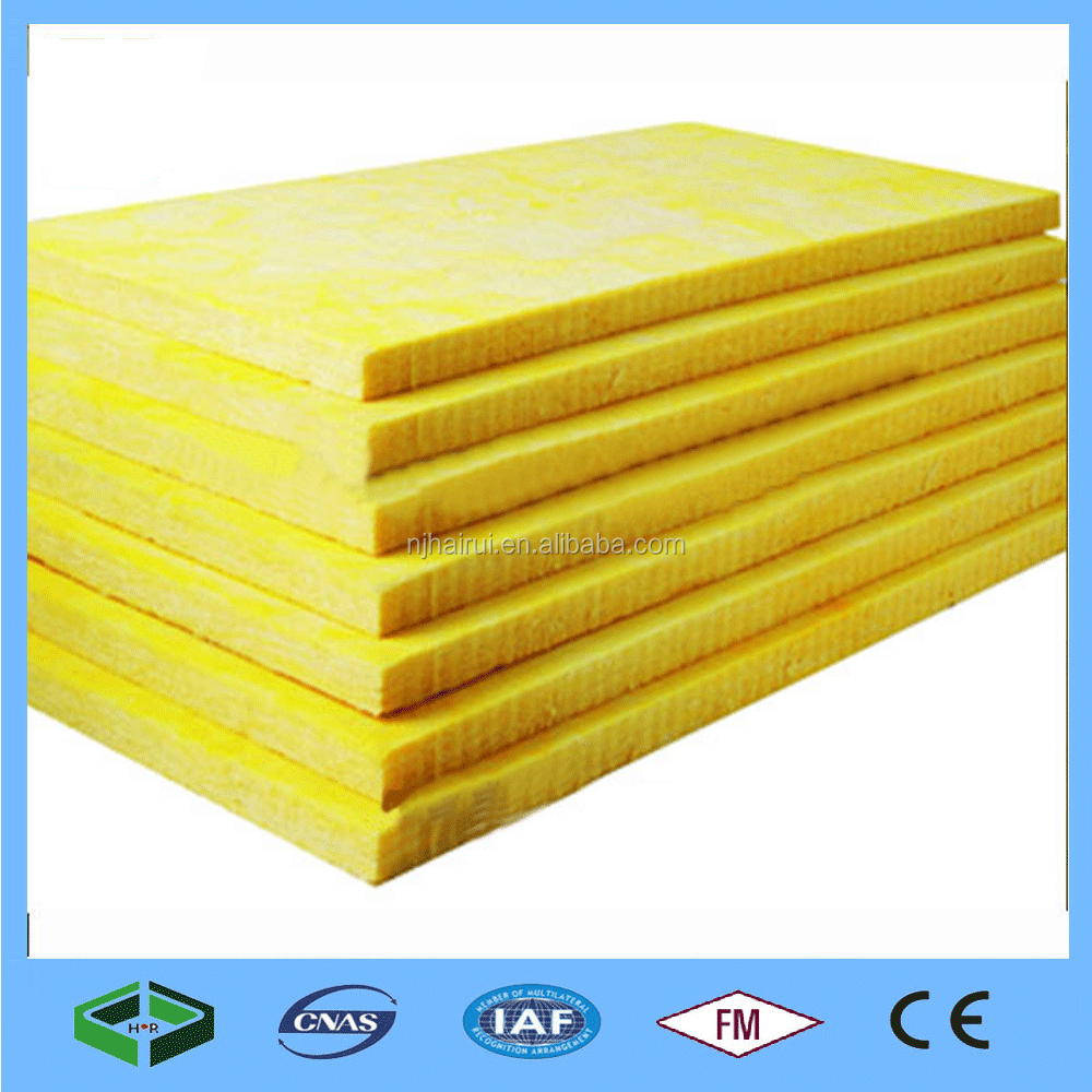 2017 China Aluminum foil insulation board glass wool board, glass wool