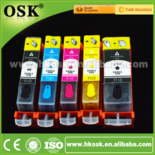 MG5270 MG6170 Edible ink cartridges for Canon PGI725 CLI726 Edible Printer ink Cartridge