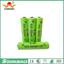 Sunrising NI-MH AAA600mAh rechargeable aaa battery 1.2v aaa rechargeable batteries