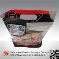 Food grade plastic Hot chicken bag/ reselable chicken bag