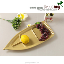 High Quality biodegradable bamboo fiber custom tray wholesale