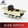 UL VDE CE 8pins power AC slide switch SLIDE SWITCH 6A 250VAC