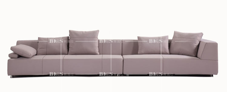 Euro style living room furniture project fabric sofa