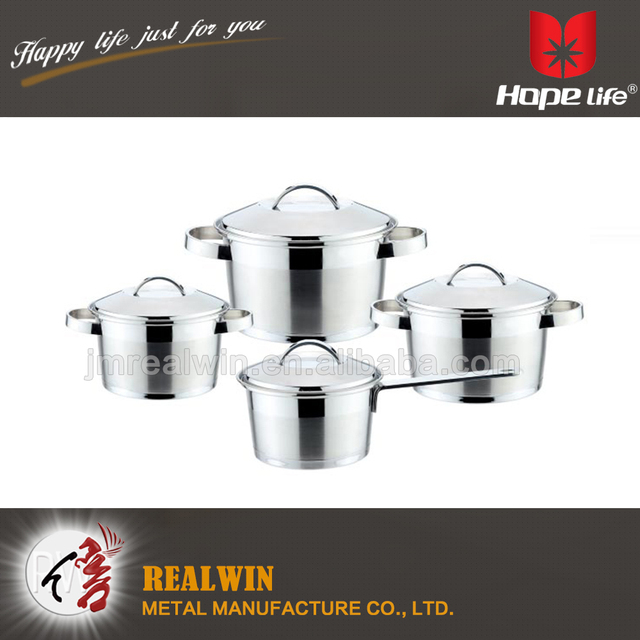 Promotion kitchen stainless steel induction casseroles /saucepan/cooking pot with S/S wire handle