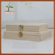 China Market High-Grade Tea Packaging Gift Custom Tea Cheap Small Wooden Boxes Wholesale