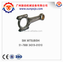 mitsubishi diesel engine parts, S6K con rod 51-7668/34319-01010