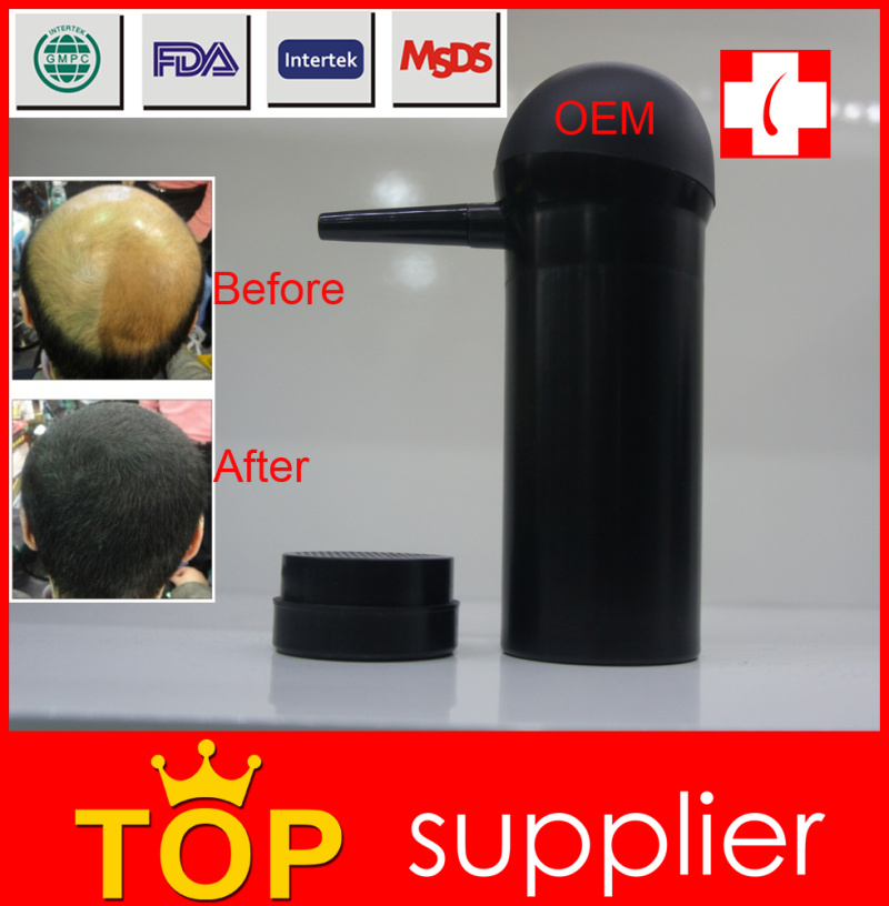 Hair cover bald china supplier hair fibers spray