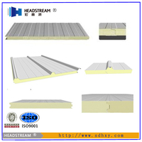 Professional production line provide foam sandwich panel from shandong hongxinuan factory
