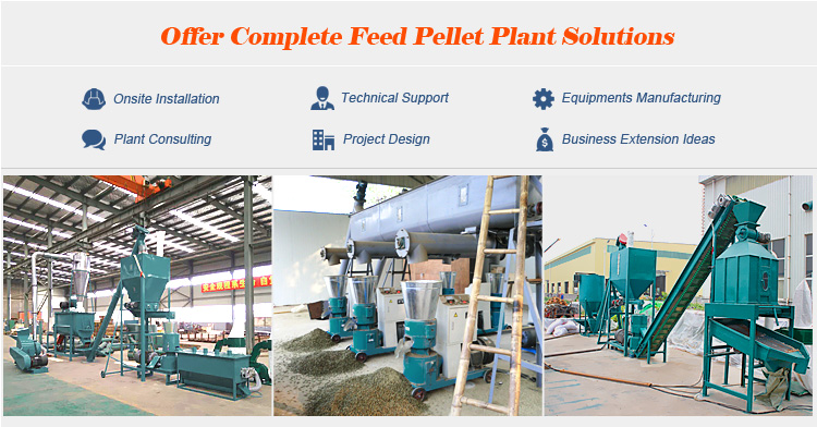 animal feed pellet making machine for chicken cattle sheep pig cat