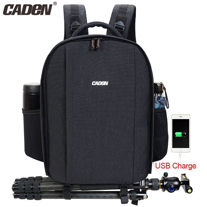 big capacity cheap USB Charging Slot Laptop Mavic Pro Video Dslr <strong>Camera</strong> Bag Backpack with raincoat and whistle and trolley strap