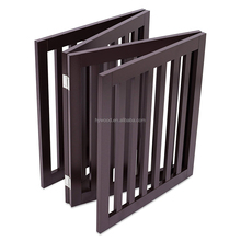 Durable versatile solid wood dog cat small animals home decoration foldable small gate