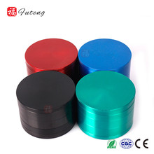 Futeng Commercial Herb 5 Parts Custom Logo Metal Herb Grinder Zinc Alloy Tobacco Grinder Wholesale