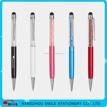 best fashion function advertising metal crystal parker pen