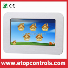 Digital Central Network Controls for Floor Heating System