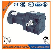 High torque dc gearmotor worm gear and worm reducer