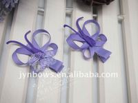 Latest design hair accessories;Novelty butterfly garment accessories;Decorative ribbon bows,shoe bows